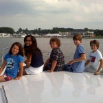The boating tradition continues for the fourth generation of the family of AYB's founder.